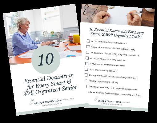 10 essential documents for seniors